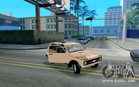 VAZ Niva for GTA San Andreas side view