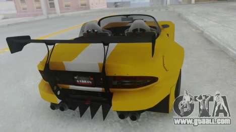 GTA 5 Bravado Banshee 900R Tuned for GTA San Andreas left view