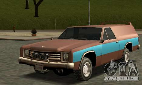 Picador Vagon Extreme for GTA San Andreas