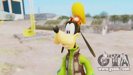 Kingdom Hearts 2 Goofy Default for GTA San Andreas