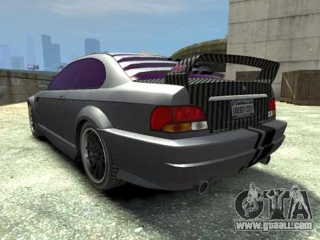 Sentinel CARBON v1.0 for GTA 4 back left view