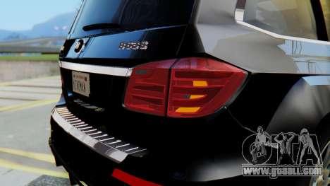 Brabus B63S for GTA San Andreas interior