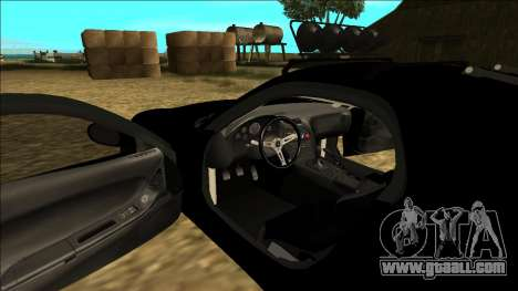 Mazda RX-7 Rusty Rebel for GTA San Andreas bottom view