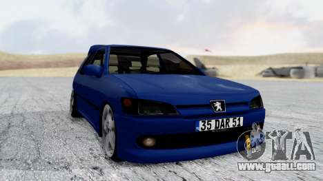 Peugeot 306 for GTA San Andreas right view