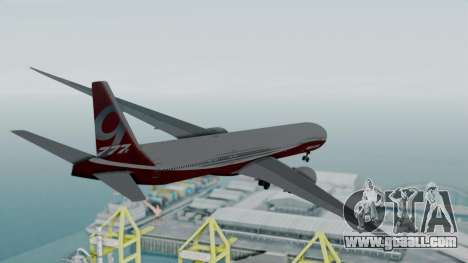 Boeing 777-9x House for GTA San Andreas right view