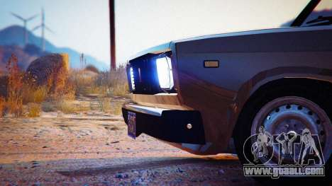 GTA 5 VAZ 2104 rear left side view