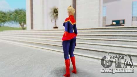 Marvel Future Fight - Captain Marvel for GTA San Andreas third screenshot
