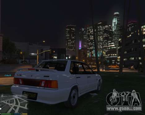 GTA 5 VAZ 2115 right side view