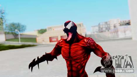 The Amazing Spider-Man 2 Game - Carnage for GTA San Andreas