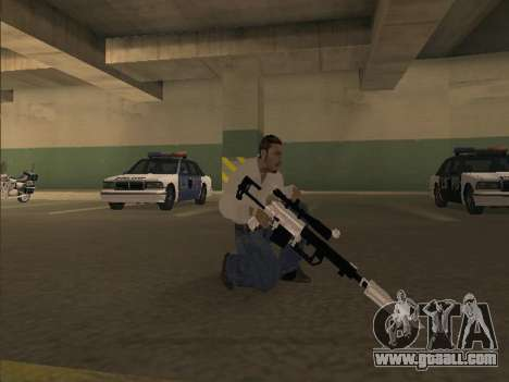 Silent Aim v6.0 for GTA San Andreas second screenshot