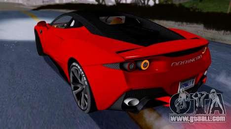 Arrinera Hussarya v2 Carbon for GTA San Andreas back left view