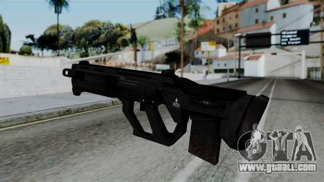 CoD Black Ops 2 - SMR for GTA San Andreas second screenshot