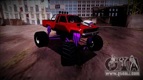 GTA 5 Karin Rebel Monster Truck for GTA San Andreas right view