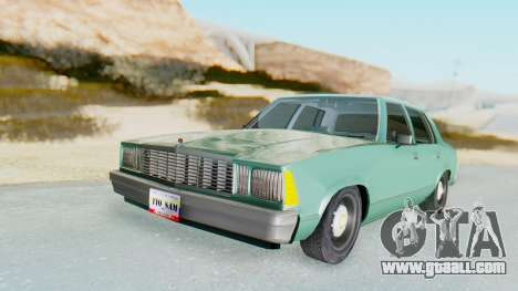 Chevrolet Malibu 1981 Twin Turbo for GTA San Andreas