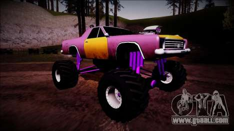 Picador Monster Truck for GTA San Andreas right view