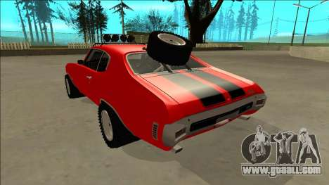 Chevrolet Chevelle Rusty Rebel for GTA San Andreas