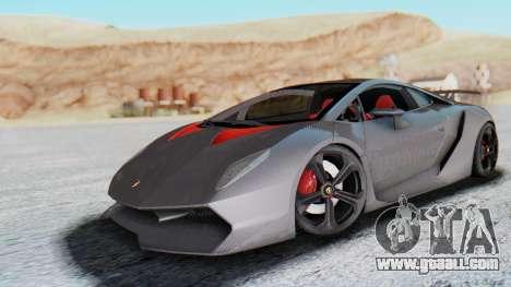 Lamborghini Sesto Elemento 2010 for GTA San Andreas