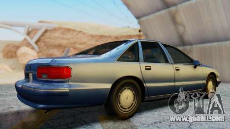 Chevrolet Caprice 1993 for GTA San Andreas right view