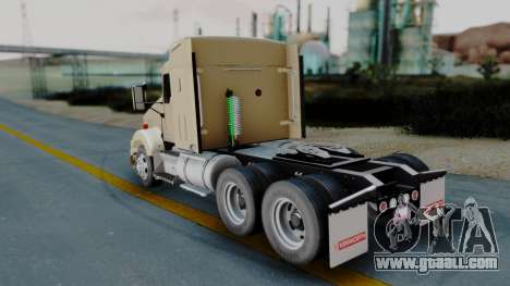 Kenworth T800 38s Flat Top for GTA San Andreas left view