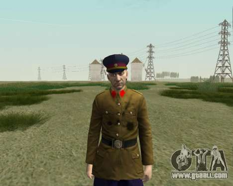 The collection Soldiers of the red army for GTA San Andreas eighth screenshot