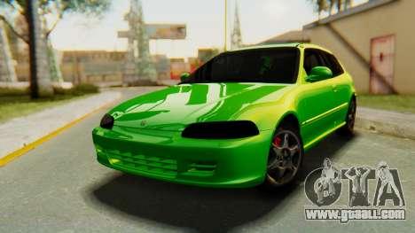 Honda Civic Vti 1994 V1.0 for GTA San Andreas