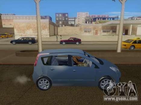 Nissan Note v1.0 Final for GTA San Andreas