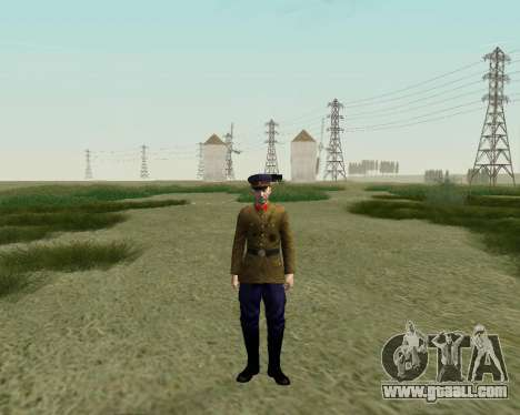 The collection Soldiers of the red army for GTA San Andreas ninth screenshot