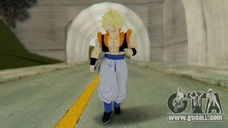DBZBT3 - Gogeta SSJ for GTA San Andreas second screenshot