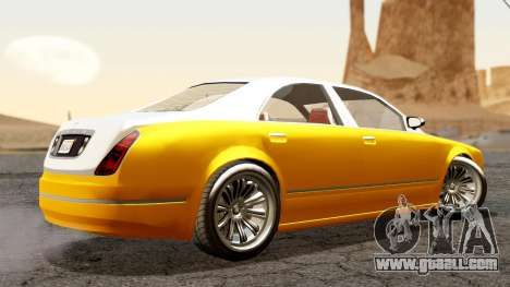 GTA 5 Enus Cognoscenti 55 for GTA San Andreas left view
