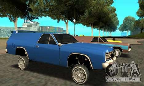 Picador Vagon Extreme for GTA San Andreas