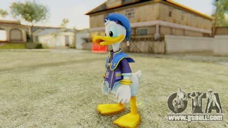 Kingdom Hearts 2 Donald Duck Default v1 for GTA San Andreas second screenshot