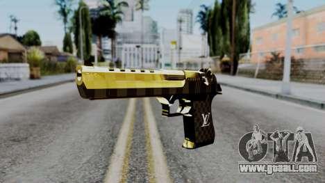 Deagle Louis Vuitton Version for GTA San Andreas