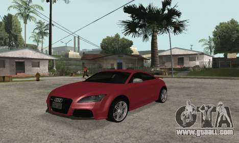 Audi TT-RS Tunable for GTA San Andreas