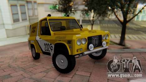 Aro 242 - Dakar 1985 for GTA San Andreas