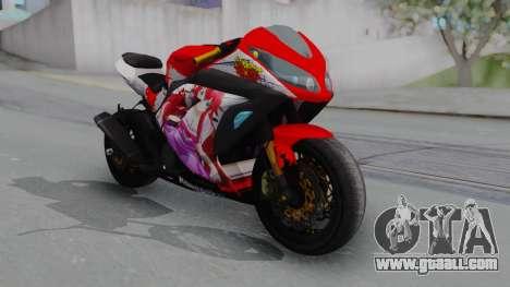 Kawasaki Ninja FI Custom Rias Gremory Itasha for GTA San Andreas