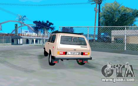 VAZ Niva for GTA San Andreas back left view