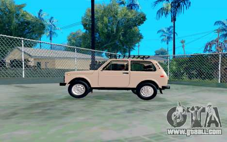 VAZ Niva for GTA San Andreas left view