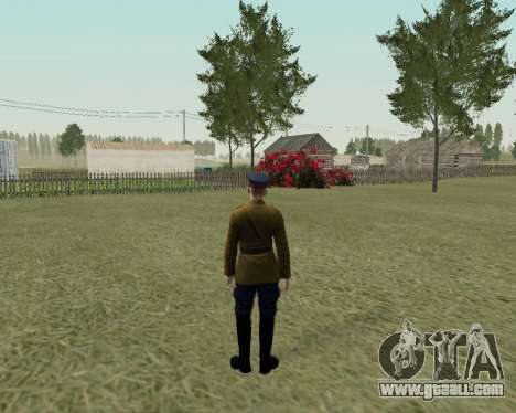 The collection Soldiers of the red army for GTA San Andreas tenth screenshot