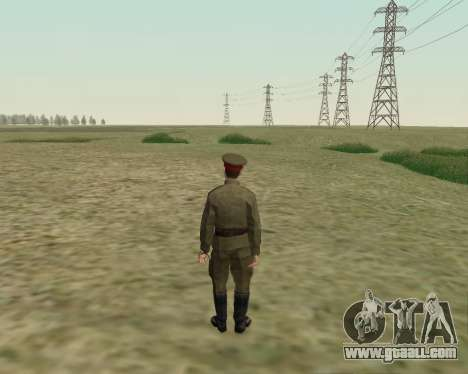 The collection Soldiers of the red army for GTA San Andreas seventh screenshot