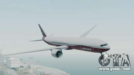 Boeing 777-9x House for GTA San Andreas back left view