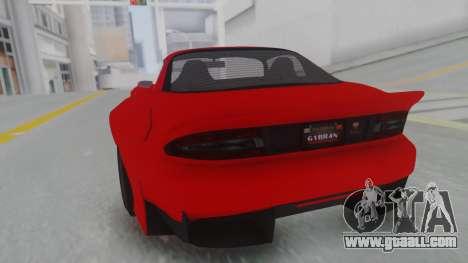 GTA 5 Bravado Banshee 900R Stock for GTA San Andreas left view