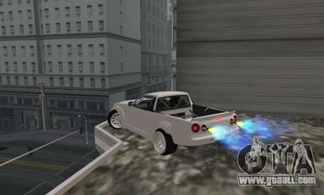 Nissan Skyline R34 Pickup for GTA San Andreas left view