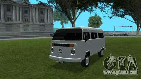 Volkswagen Kombi 2004 for GTA San Andreas
