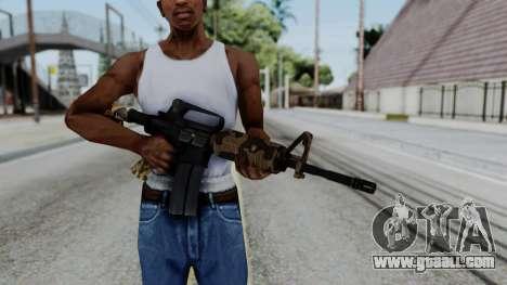 M16 A2 Carbine M727 v2 for GTA San Andreas third screenshot