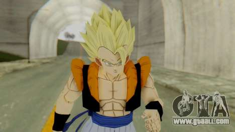 DBZBT3 - Gogeta SSJ for GTA San Andreas