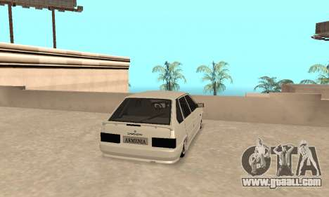 Vaz 2114 Armenian for GTA San Andreas right view