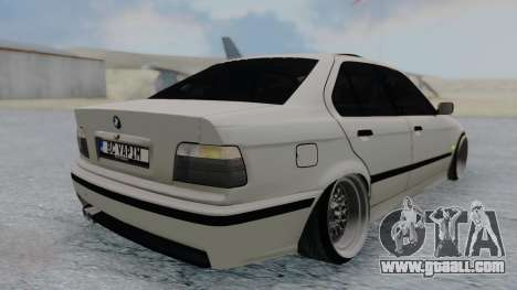 BMW 3-er E36 for GTA San Andreas left view