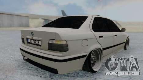 BMW 3-er E36 for GTA San Andreas left view