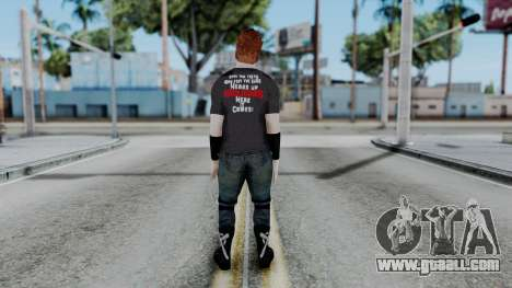 Sheamus Casual for GTA San Andreas third screenshot