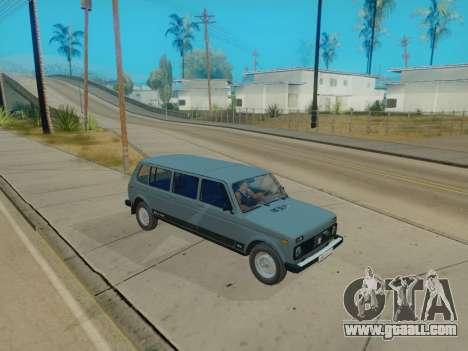 ВАЗ 2131 7-door [HQ Version] for GTA San Andreas inner view